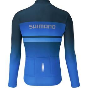 Shimano Team LS Jersey Men blue